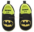 Superheroes Baby Boy Soft Sole Crib Shoes Slip-on Size Newborn to 18 Months