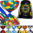 JESTER Diabolo Set + FIBRE Pro Diablo Sticks + Diabolo String + Bag