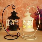 Iron Moroccan Style Candlestick Candleholder Candle Stand Light Holder Lantern