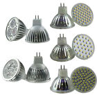MR16 30/48/60 SMD LED Spot Light Bulbs 3W 4W High Power Day/Warm White lamp