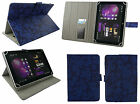 "Universal Multi Angle Wallet Case Cover Folio for 9.7"" & 10 inch Tablet & Stylus"