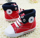 Infant Toddler Baby boy Girl Soft Sole Sneaker Crib Shoes Sneaker 0-18Mth/L2