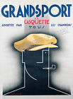 Grand Sport Vintage French ad print poster, large 4 sizes available