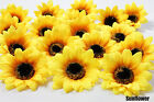 50X 100X Sunflowers Daisy 3 inch Artificial Silk Flower Head Wholesale Lots F-36