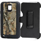 Free Belt Clip Black tree Camo Defender Case Cover for Samsung Galaxy Note 3