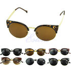 Fashion Womens and Mens Retro Round Glasses Vintage Cat Eye Sunglasses