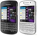 New Blackberry Q10 - 4g Lte - Black/white - Factory Unlocked - Smartphone
