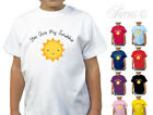 YOU ARE MY SUNSHINE DESIGNER CUTE GIRLS T-SHIRT TSHIRT KIDS CHILDRENS ALL AGES