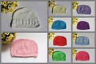 Baby Girls Boys Beanie Hat Infant Cotton Crochet Kufi Baby Kids Cap Hat Photo