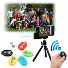 Bluetooth Selfie Remote Control Shutter+Tripod Holder For iPhone 5S 5C 5 4S 4