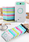Iglow Hybrid Back Case Cover Ring Stand for Samsung Galaxy Note 2 II N7100 New