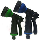 6 DIAL SPRAY GUN MULTI PATTERN GARDEN HOSE PIPE WATER SPRAYER GRIP HANDLE 2COLOR