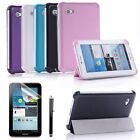 3 Fold Smart Case Cover for Samsung Galaxy Tab 2 7.0 7 Tablet P3100 - Bundle