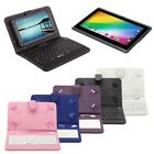 "iRulu Tablet New 7"" Google Android 4.4 Quad Core Dual Cameras 16GB  w/ Keyboard"