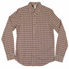 Mens Ben Sherman Plectrum Mod Regular Fit Shirt Check Print Long Sleeve