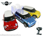 1:18 Official Licensed BMW Mini Cooper S Radio Remote Control Car Boys RC Toys
