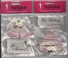 U CHOOSE Mark Richards  OUR WEDDING CAKE     JUST MARRIED BELLS   3D Stickers