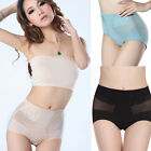 SEAMLESS HIGH WAIST FIRM TUMMY BUM CONTROL SLIMMING BRIEFS KNICKERS SIZE 8-26