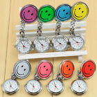 Wholesale price Nurses Watch Smiley Face Stainless Steel Fun Fob Watches Nurse