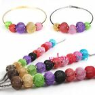 New Assorted Iron Wrap Knitting Net Tennis Ball Metal Charms Beads Fit Necklace