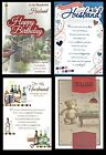 HUSBAND ~ Quality Birthday Card ~ With FABULOUS VERSES ~ choice of Design ~ L@@K