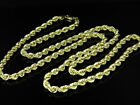 Mens/Ladies 1/10th 10K Yellow Gold 4 MM Hollow Rope Chain Necklace 16-28 Inches