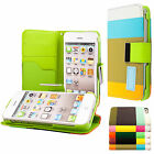 Apple iPhone 4 4S Housse en cuir pour wallet devise  + protection d'écran