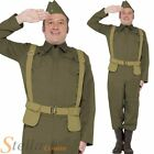 Men Home Guard Private Dads Army War Fancy Dress Costume WW2 30s 40s Soldier