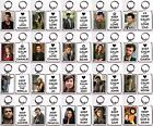 """Supernatural """"Keep Calm And Love..."""" Keychain You Choose Your Favorite Character"""