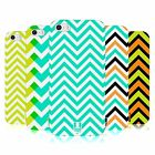 HEAD CASE NEON CHEVRON TPU GEL BACK CASE COVER FOR APPLE iPHONE 5S