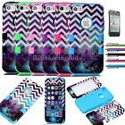 Colorful Heavy Duty Hybrid Rugged Hard Soft Case Cover For Apple iPhone 5C C