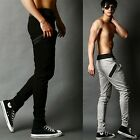 Men's Hip Hop Pants Low Drop Crotch Casual Sport Sweatpants Trousers AUJR