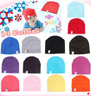 Unisex NewBorn Cute Baby Boy/Girl Kids Cotton Beanie Hat Soft Toddler Infant Cap