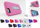for Apple iPhone 6 (4.7 Inch) Stand Heavy Duty Gem Hybrid Case Cover+Prytool