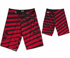 JOBE RUTHLESS Men Boardshort Stretch Black/Red