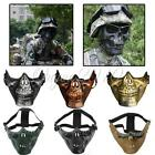 Army Skull Skeleton Airsoft Paintball Hunting BB Gun Face Mask Game Protect Safe