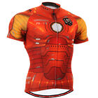NEW Fixgear mens cycling jersey shortsleeve zip shirts cycle clothing S~3XL