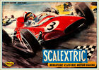 Scalextric 1964 vintage Print..FREE POSTAGE for UK