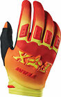 NEW FOX RACING DIRTPAW IMPERIAL MX DIRT BIKE GLOVES RED/ YELLOW ALL SIZES