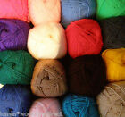 100g BALLS OF WOOLCRAFT ACRYLIC DOUBLE KNITTING YARN