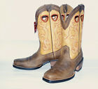 Earth/Seashell Rodeo~Rawhide Square Toe Western Man's Ariat Boot 10006864 rodeo
