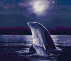 MIDNIGHT DOLPHIN - CROSS STITCH CHART
