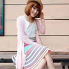 Charming Offer Shawl Sun Protection Shirt Air-condition Sweater Summer Cardigan