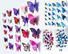 Wall Stickers Home Decor Room Decorations Butterfly Sticker Art Design 3D Decal