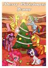 Personalised A5 Christmas Card with free gift and postage (My Little Pony)