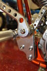 Harley Softail Polished & Accent Forward Controls by Speed Dealer Customs