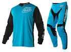 NEW 2015 TROY LEE DESIGNS GP HOT ROD MX DIRT BIKE GEAR COMBO BLUE ALL SIZES