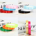 Fine 25 Yards 13mm Pretty Satin Ribbon Craft Party Wedding Decoration 11 Colors