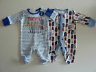NEXT 2 Really Cute Little Boys 'Mummy's Little Soldier' Sleepsuits NWT