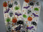 halloween skull,spiders cellophane party bags/gift bags 29cms x 12.5 cms + ties